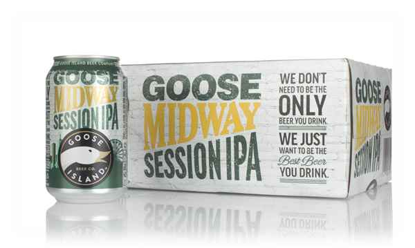 Goose Island Midway Session IPA (12 x 330ml)