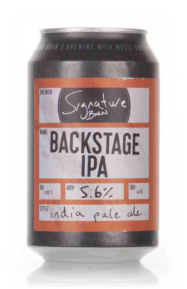 Signature Brew Backstage IPA