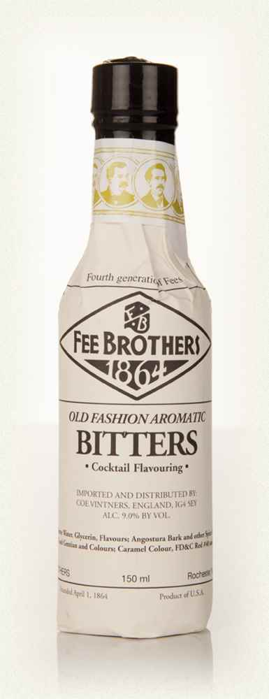 Fee Brothers Old Fashion Aromatic Bitters 15cl
