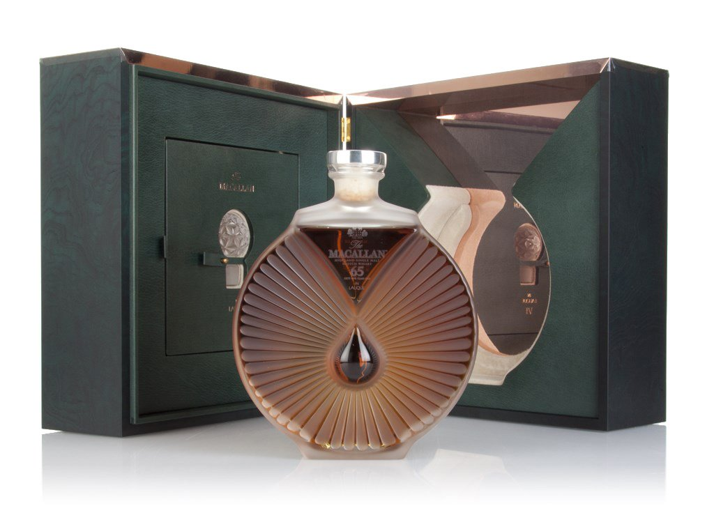 Macallan Lalique Peerless Spirit 65 Year Old