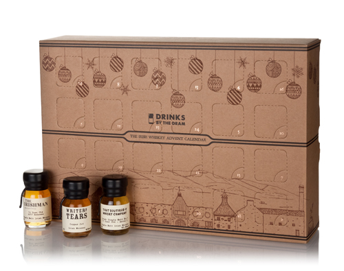 Irish whiskey advent calendars