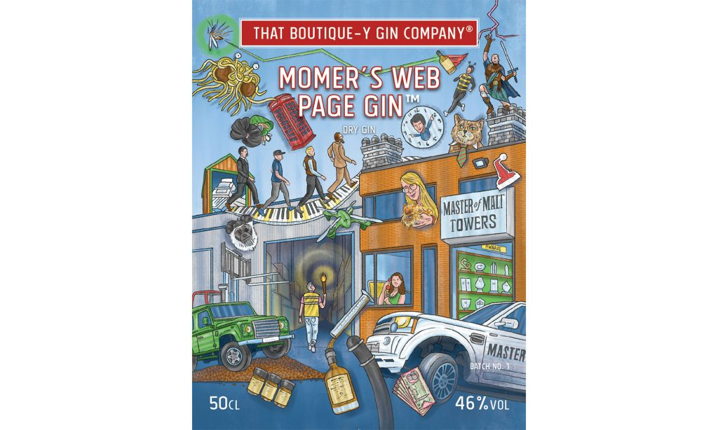 MoMer's Web Page Gin