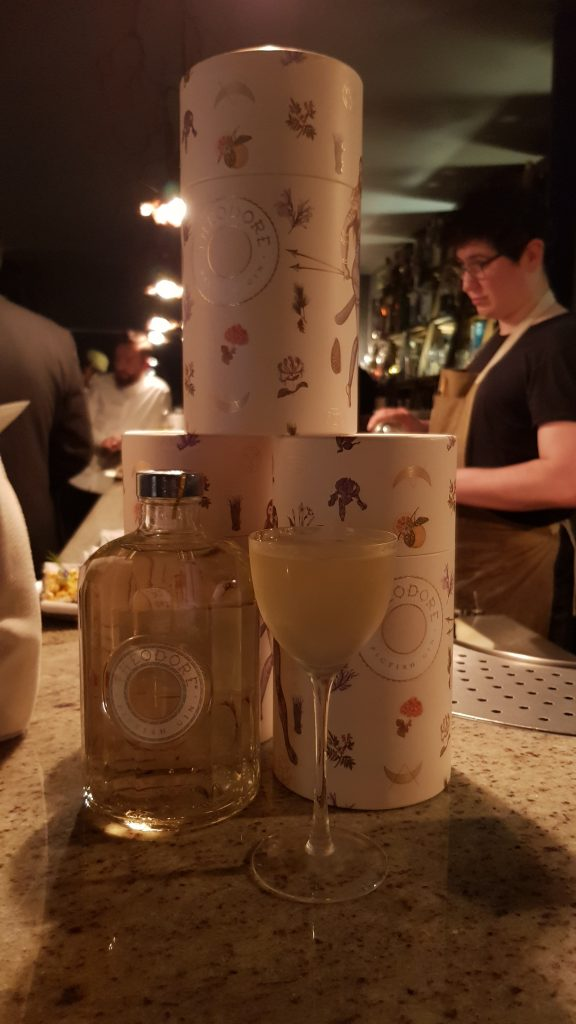 An evening of cocktails and perfume with Theodore Gin
