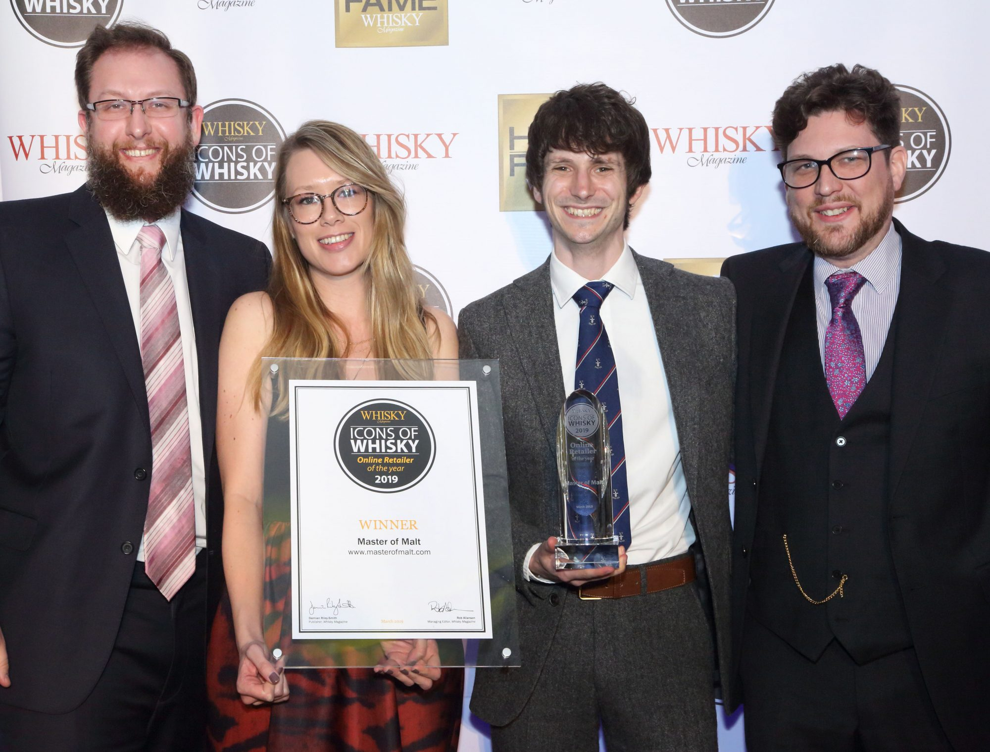 Online Retailer of the Year 2019 Icons of Whisky