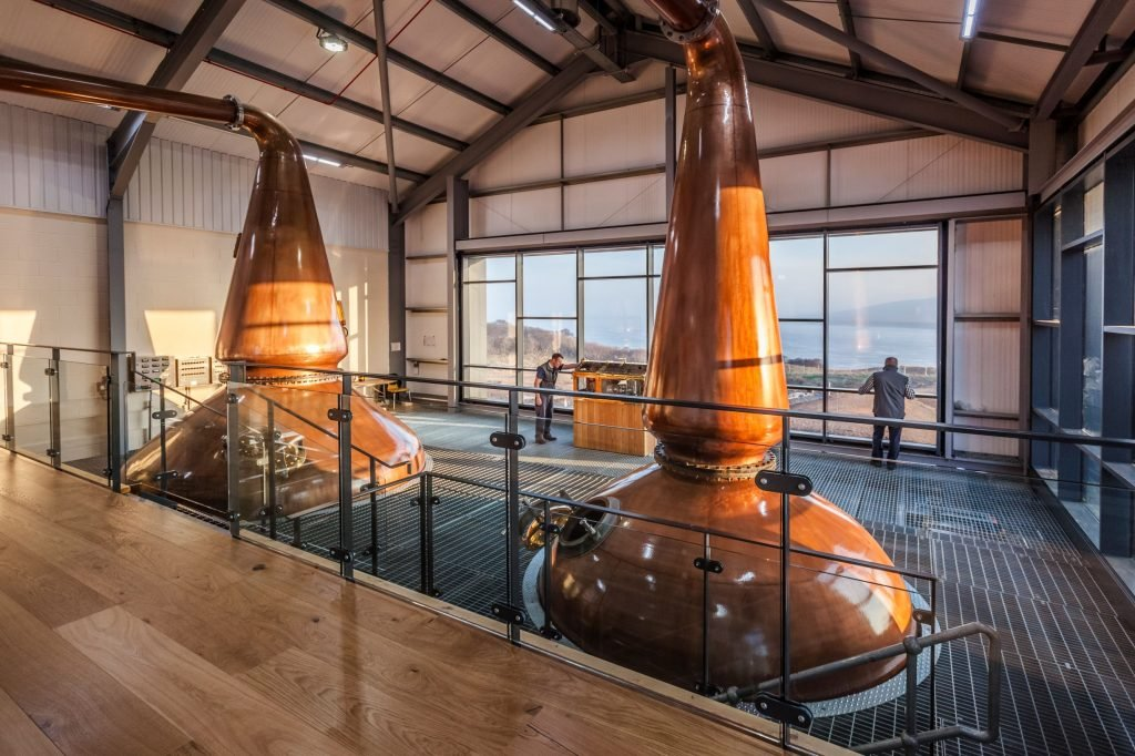 Ardnahoe Distillery Still Room