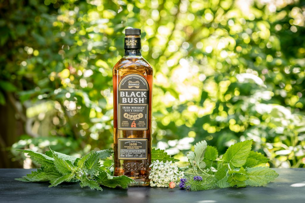 Go foraging with Bushmills whiskey