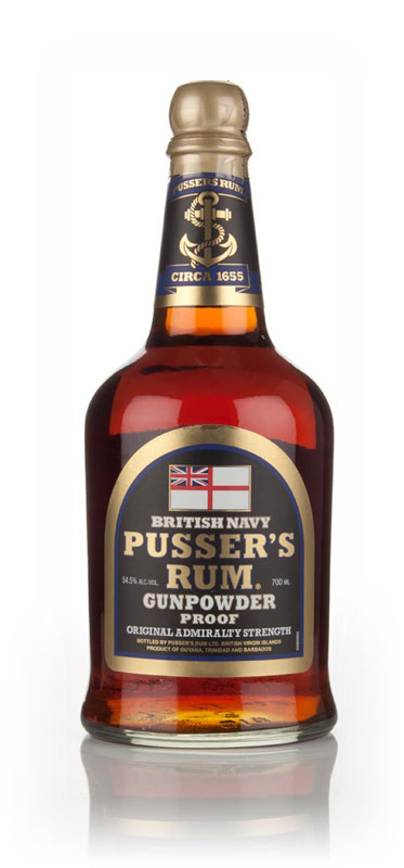 Pussers Gunpowder Proof Black Label
