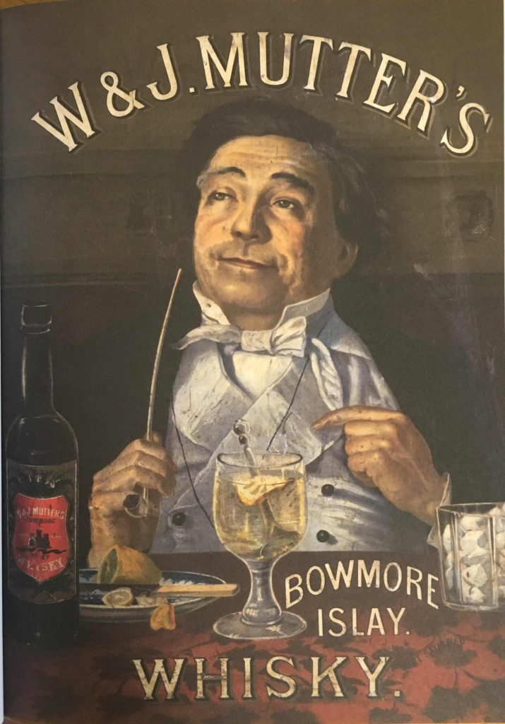 Bowmore advert
