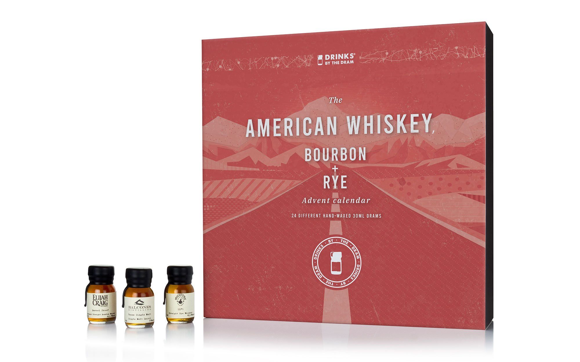 The American Whiskey, Bourbon & Rye Advent Calendar