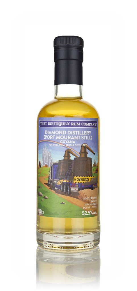 Diamond Distillery (Port Mourant Still) 10 Year Old (That Boutique-y Rum Company)