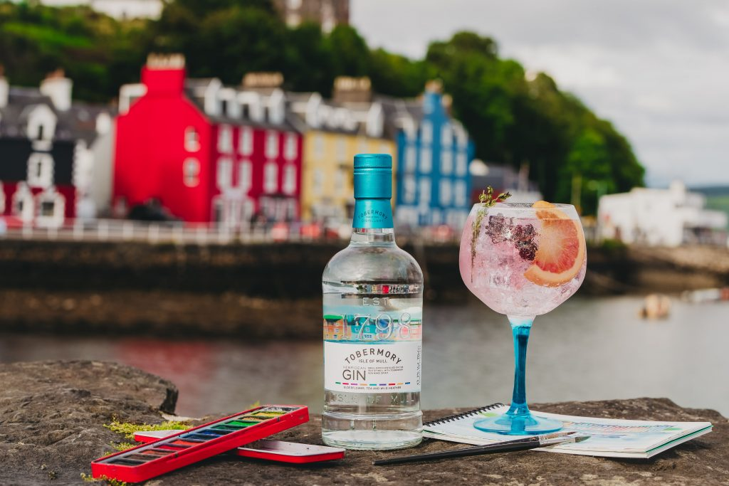 The winner of a VIP trip to Tobermory Distillery is...