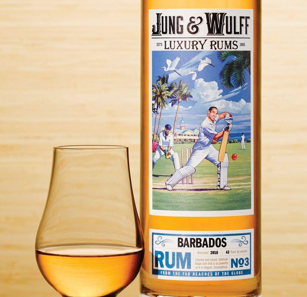 Jung & Wulff Barbados rum No.3