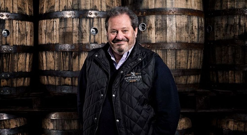 Daniel Szor, founder of the Cotswolds Distillery