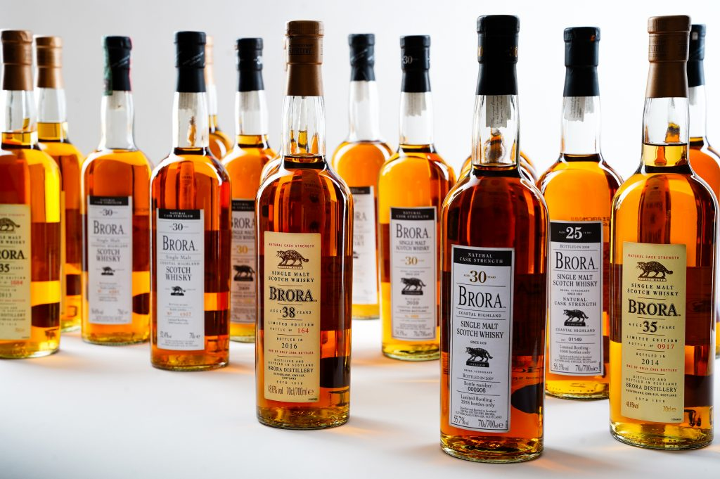 Rare Brora whiskies go under the hammer