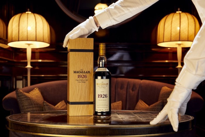 The macallan Fine and Rare 60-year-old