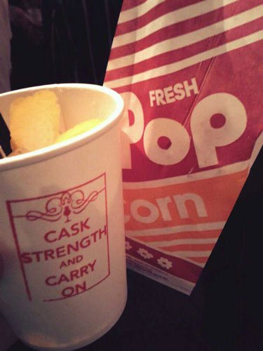 Caskstrength and Carry On Popcorn