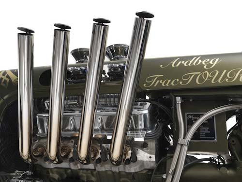 Ardbeg Tractor pipes