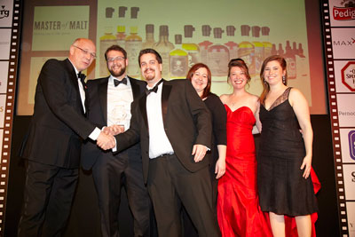 Master of Malt Wins at the DRA 2012