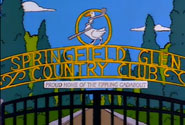 Simpsons Springfield Glen Country Club