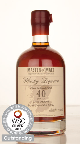Master of Malt 40 Year Old Speyside Liqueur IWSC 2013
