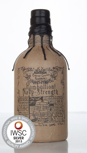 Rumbullion Navy Strength IWSC 2013