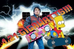 Bart back to the future