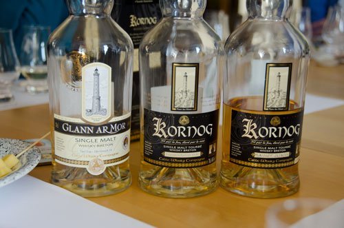 Celtic Whisky tasting - Glenn Ar Mor and Kornog