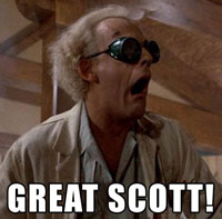 Doc Brown great Scott!