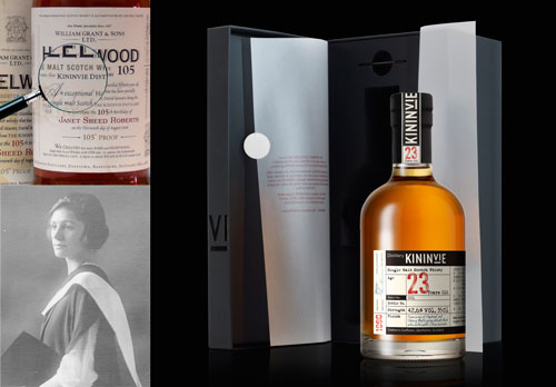 Kininvie Single Malt Whiskies and Janet Sheed Roberts