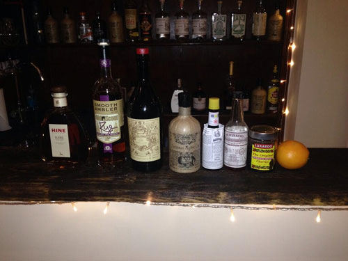 Master of Cocktails Vieux Carre Noeleux ingredients