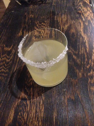 Master of Cocktails Margarita on the rocks