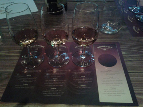 Redbreast 12 Year Old, Redbreast 12 Year Old Cask Strength, Redbreast 15 Year Old