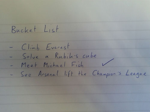 Jake's Bucket List
