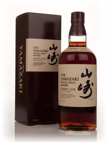 World Whisky of the Year Yamazaki Sherry 2013
