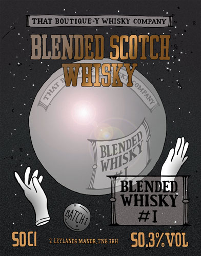Blended Scotch Whisky Number One That Boutique-y Whisky Company