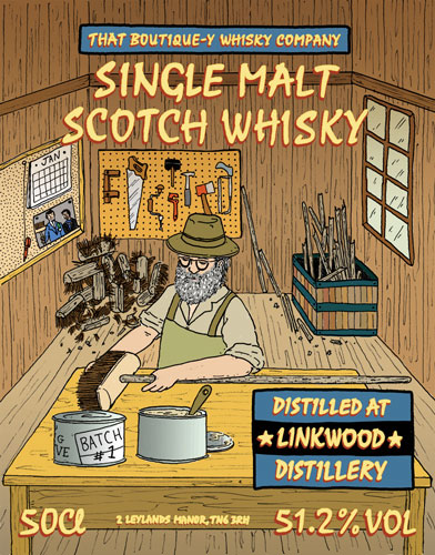 Linkwood Batch 1 That Boutique-y Whisky Company