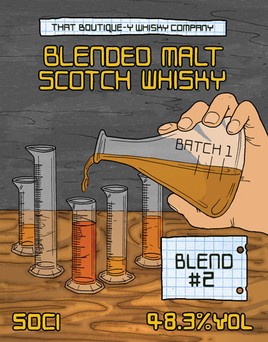 Blended #2 Batch 1 That Boutique-y Whisky Company