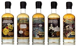 North British, Dailuaine, Auchroisk, Tomintoul, Glen Moray That Boutique-y Whisky Company