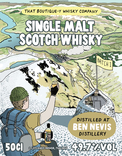 Ben Nevis Batch 1 That Boutique-y Whisky Company