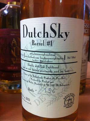 dramboree whisky weekend 2013 dutch sky