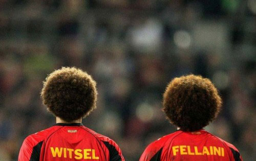 Witsel and Fellaini