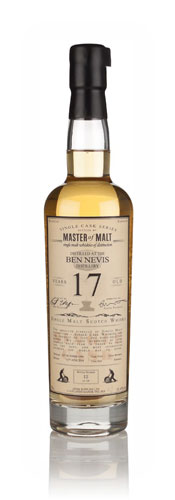 Master of Malt Single Cask Ben Nevis 17YO