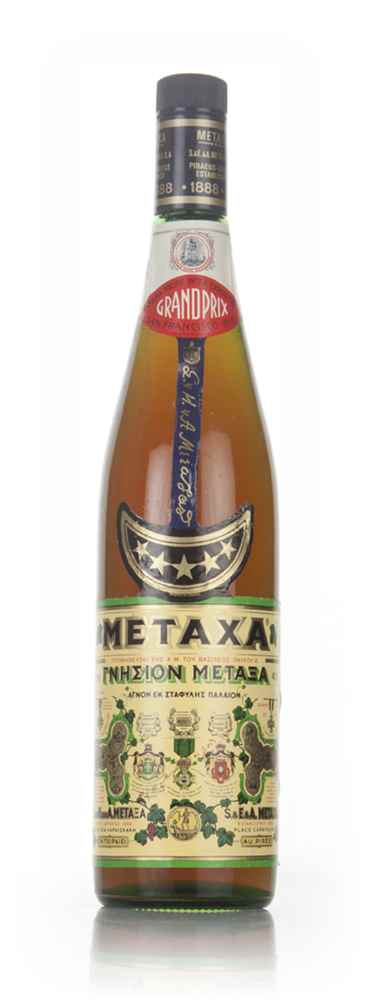 Metaxa 5 Star (1L) - 1970s