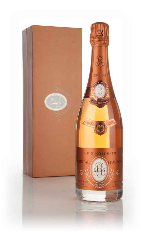 louis roederer cristal ros 2006 champagne master of malt. Black Bedroom Furniture Sets. Home Design Ideas