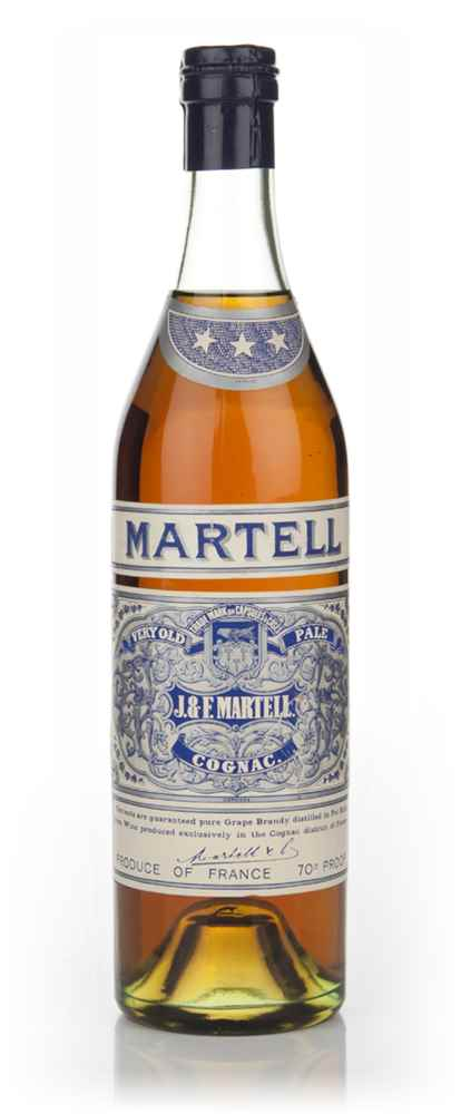 Martell 3 Star Very Old Pale Cognac - 1950s