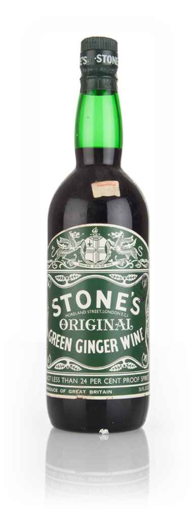 Stone's Original Green Ginger Wine - 1970s