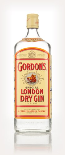 Gordon's London Dry Gin - 1980s
