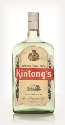 Kintong's Extra Dry Gin - 1970s