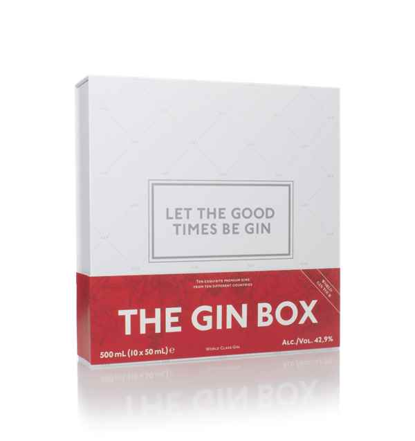 1423 The Gin Box (10 x 50ml)