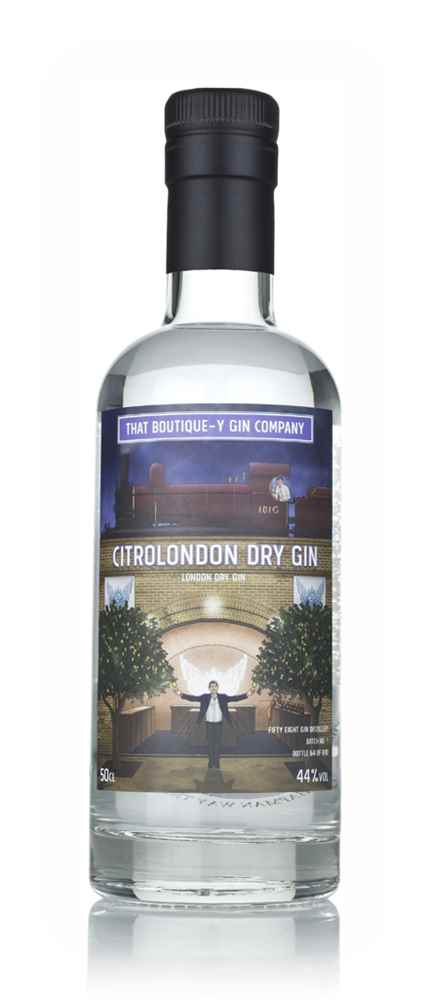 CitroLondon Dry Gin - Fifty Eight Gin Distillery (That Boutique-y Gin Company)